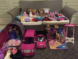 Collection of Barbie Dolls and Accessories Craigieburn Hume Area Preview