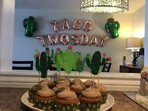 Taco TWOSday Toddler Birthday Party Decorations