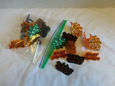 Fall Halloween Cupcake Rings trick or treat Decorations