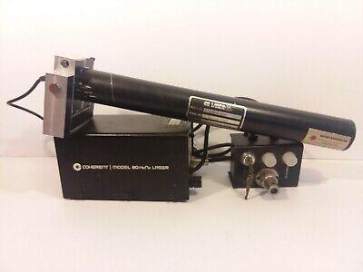 Coherent Cr80-5hp Model 80 Hene Laser Cr80-46 Cr90-115 Power Supply Helium Neon
