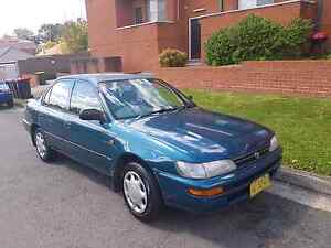 CHEAP  toyota corolla AUTO 4 cylinder $1250 Lakemba Canterbury Area Preview