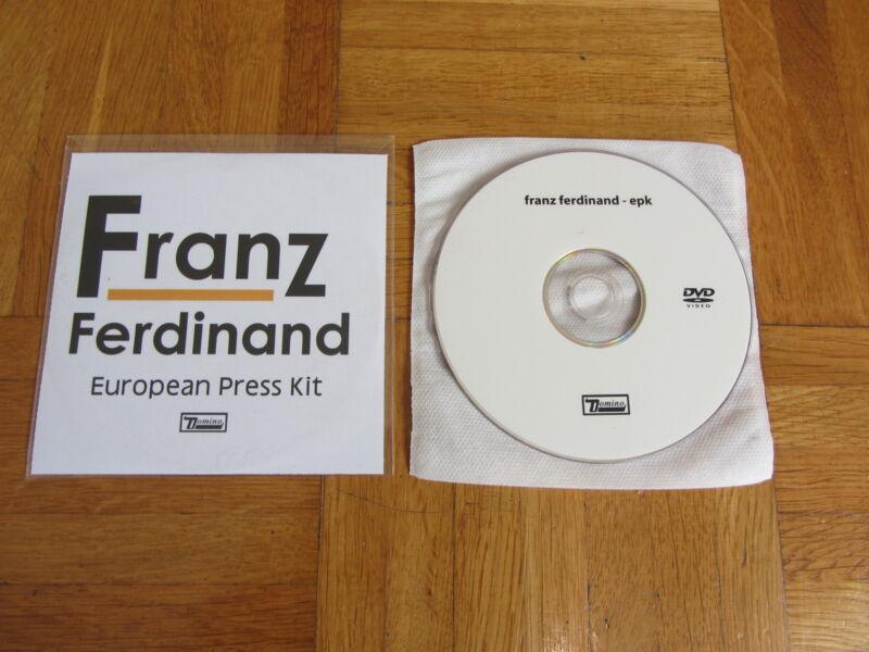 FRANZ FERDINAND European Press Kit DVD