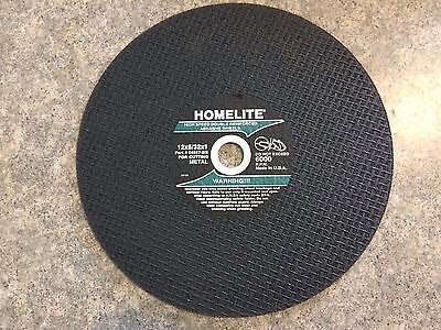 Lot Of 5 Homelite Cutoff Chop Saw Blade Metal 12x532x1 Hom-4982164597-bs