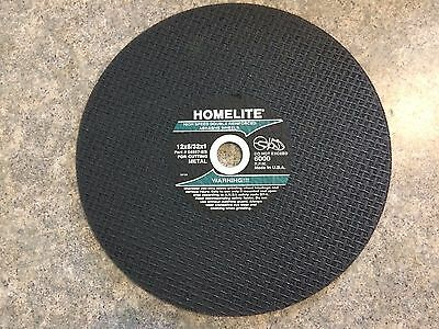 Lot Of 5 Homelite Cutoff Chop Saw Blade Metal 12x532x1 Hom-4982164597-bs