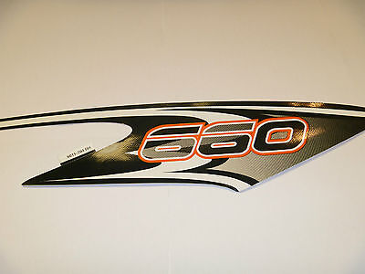 NEW OEM ARCTIC CAT SNOWMOBILE DECAL PART # 6611-764