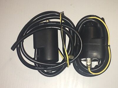 2 X IGNITION COIL SET HITACHA TO FIT <em>YAMAHA</em> YZF600 THUNDERCAT 2000 TO