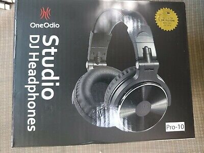OneOdio Closed Back Over Ear DJ Stereo Monitor Headphones Black Pro-10.