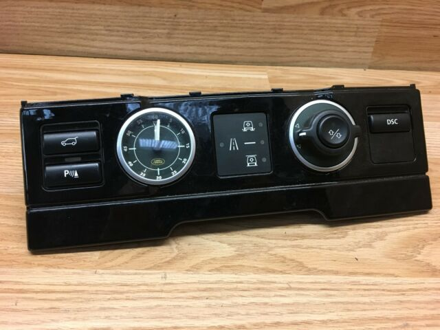 Range Rover Vogue L322 2003 V8 4.4 Air Suspension Control Switches YUL000072PUY