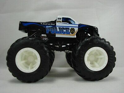 Hot Wheels POLICE Monster Truck LOOSE from a Demolition Doubles Multi Pack VHTF