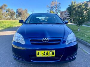 2006 Toyota Corolla Ascent Seca 4 Speed Automatic Hatchback 10months Rego Log Books