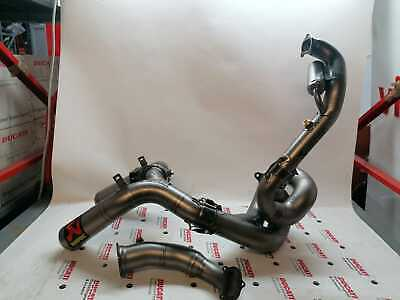 System Of Exhaust Official World SBK Akrapovic F17 For Ducati Panigale R
