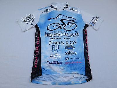 49ab846a3 Mens Primal Wear 2006 Ride For The Cure Cancer Bike Cycling Jersey Small  Shirt