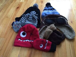 Toddler Boy Toques and Mittens