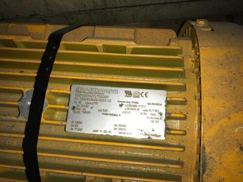 SEW EURODRIVE, Motor, #DRP160S4, 5.5KW, 1775rpm, 230/460v, With Warranty