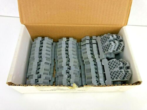 [Full Box of 50!] Automation Direct DINNECTORS DN-EB35 END BRACKET FOR 35MM RAIL