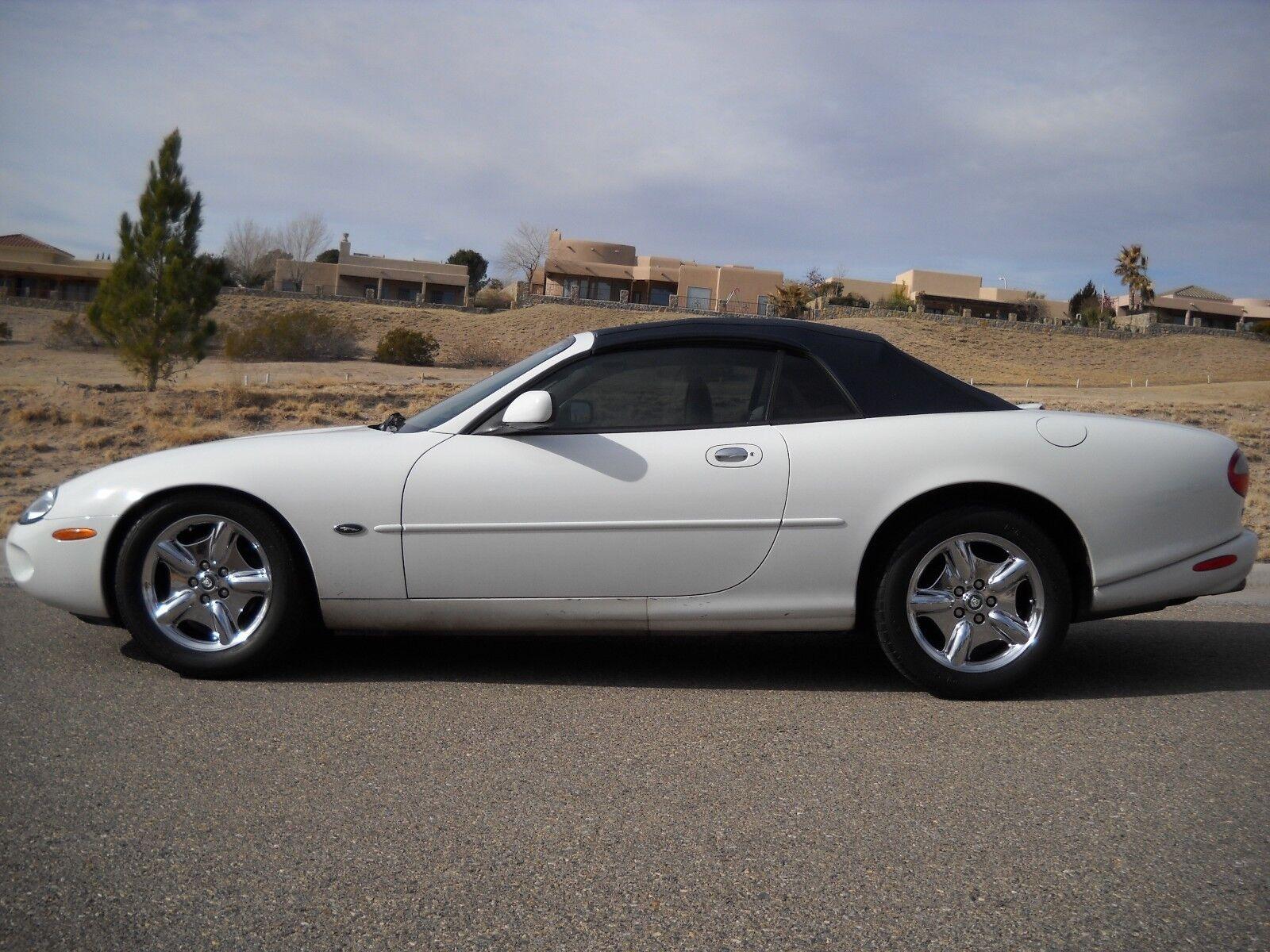 1999 Jaguar X-Type white/Blue 1999 Jaguar XK8 Convertible Mechanics special