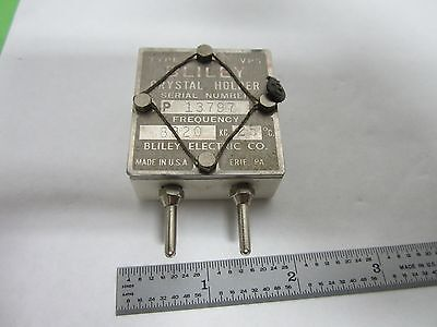 Vintage Wwii Bliley Vp5 Quartz Crystal Frequency Control Ham Radio Binl7-30