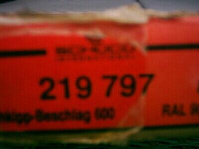 SCHÜCO Royal 65 Dreh-Kipp-Beschlag 219797 RAL 9016 Weiß DIN Links Größe 600