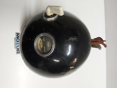 Old motorcycle headlamp Norton Bsa Triumph 1940s (box95)
