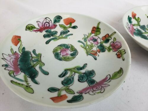 Pair of nice marked chinese antique plates