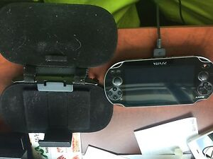 Ps vita with 19 games