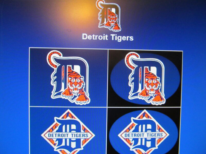 200 DETROIT TIGERS CARDS  (Lot)