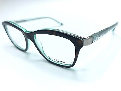 Juicy Couture Eyeglass Frames JU-152 0ED2 50-16-135 Brown/Tortoise 0552