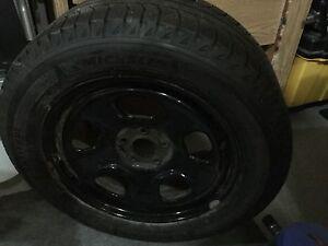 Winter tires on rims Kitchener / Waterloo Kitchener Area image 2
