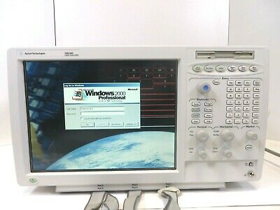 Agilent 1681ad Logic Analyzer Option 102ch La 2mg Used Free Ship