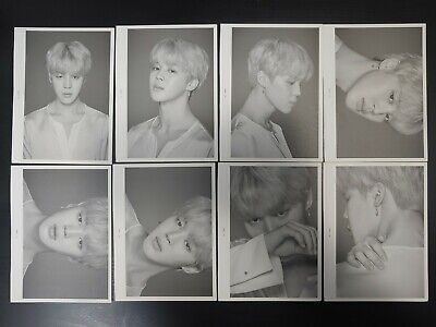 [Official] BTS FACE PHOTO COLLECTION [THE WINGS FINAL TOUR] JI MIN 8pcs