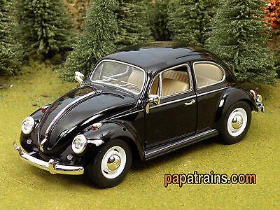 DieCast 1967 Classic VW Volks Wagon Beetle G Scale 1:24 by Kinsmart 67 VW Beetle