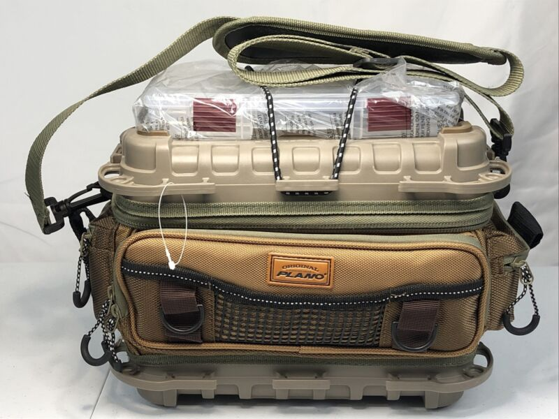 Plano 465030 Guide Series 3500 Tackle Bag Molded Top + Strap