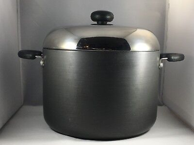 Circulon 8 Quart Hard Anodized Nonstick Stock Pot w/ Lid
