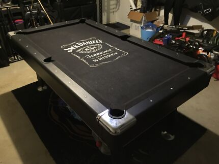 Jack Daniels Pool Table For Mancave