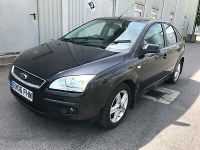 2006 Ford Focus 1.8 Titanium MOT STARTS+DRIVES SPARES OR REPAIRS