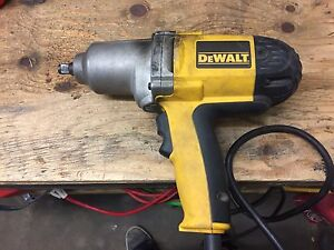 "1/2"" Electric Impact Wrench Dewalt"
