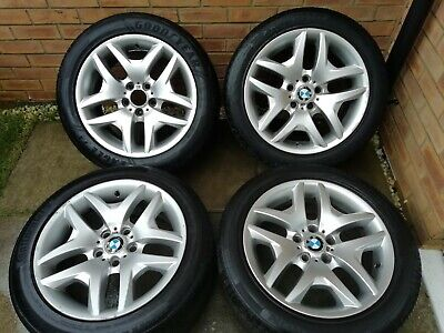 "Bmw X3 Alloy Wheels 18"" Style 192 X3 E46 Genuine"