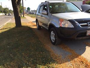 2004 Honda CRV EX New brakes and tires