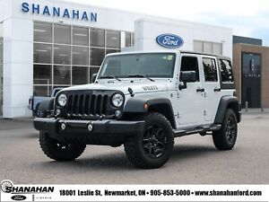 2016 Jeep Wrangler Unlimited Willys WheelerHard and Soft Tonneau