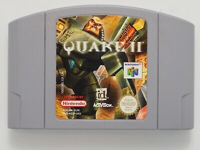 Quake II for Nintendo 64 *100% ORIGINAL* N64 CART ONLY EXCELLENT CONDITION!