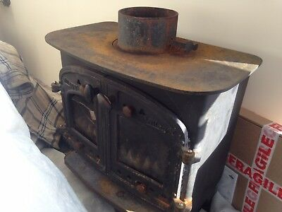 Villager Woodburner Wood burning Stove Logburner Villager B Flat mate Kitchener