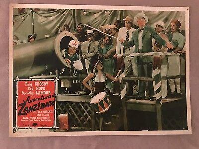 FOTOBUSTA 1946,AVENTURA EN ZANZÍBAR EL CAMINO DE TO,BOB HOPE,CROSBY (Aventura Promise)