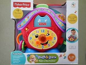NEW Fisher Price Laugh N Learn Peek a Boo Cuckoo Clock RRP$35 East Brisbane Brisbane South East Preview