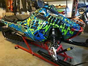 2015 Polaris pro 800 163 track snow check