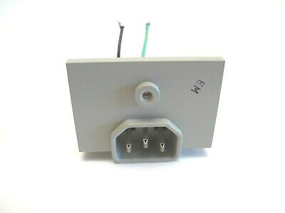 Fluke 8050a Digital Multimeter Parts- Ac Power Cord Receptacle Connection