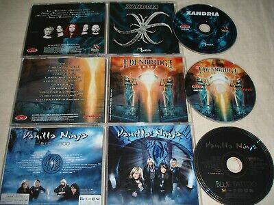 Usado, Female Symphonic Metal - Lot of 3 CDs - XANDRIA, EDENBRIDGE, VANILLA NINJA comprar usado  Enviando para Brazil