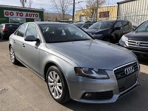 2010 Audi A4 Quattro Sedan - Leather, Sunroof, Low Kms!!