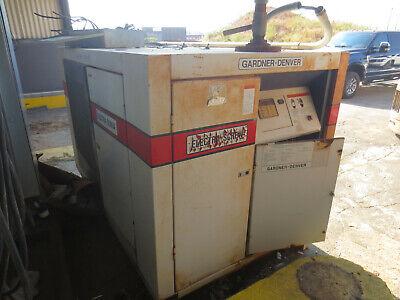 75hp Gardner Denver Edf0lb Air Compressor Bahbadd 575v