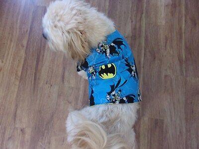 "dog shirt vest,""Batman"",Large for small breeds,**(read details for size)"