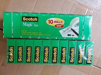 Scotch Magic Tape Value Pack 810p10k 20 Pack